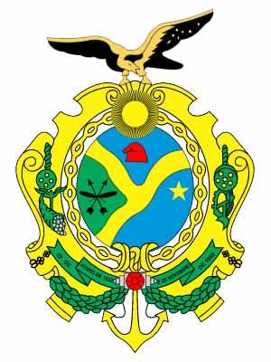 Brasão do estado do AMAZONAS - AM