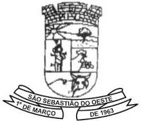 Foto da Cidade de São Sebastião do Oeste - MG