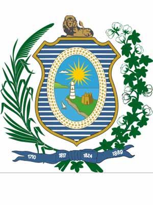 Brasão do estado do PERNAMBUCO - PE