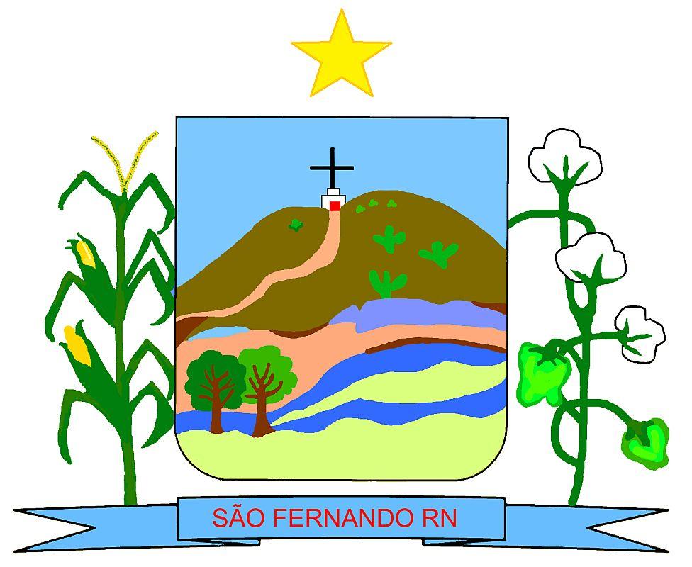 Brasão da Cidade de São Fernando - RN