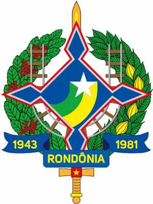 Brasão do estado do RONDôNIA - RO