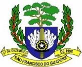 Brasão da Cidade de SAO FRANCISCO DO GUAPORE - RO