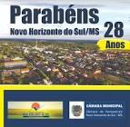 Foto da Cidade de Novo Horizonte do Sul - MS