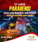 Foto da Cidade de São Lourenço do Piauí - PI