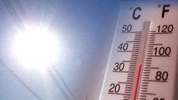 Sensação térmica: Termómetro para ilustrar